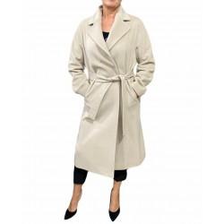 Cappotto Donna lungo con cinta
