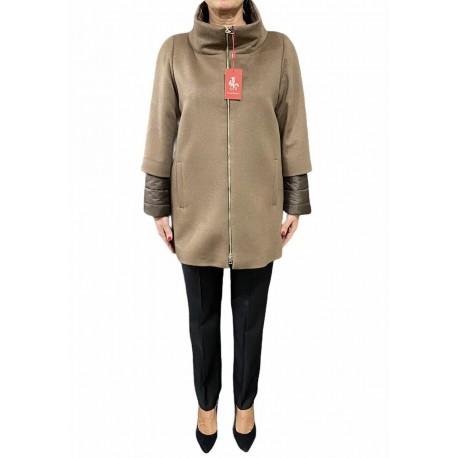 Cappotto Donna con manica 3/4 trapuntata Piacenza