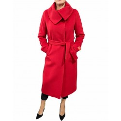 Cappotto Donna lungo con cinta Piacenza