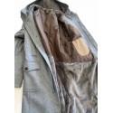 Cappotto Uomo doppia tasca con cappuccio e pelliccia interna