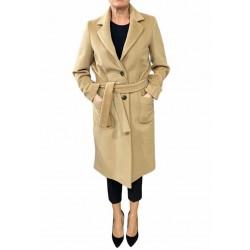 Cappotto Donna doppio petto con cinta